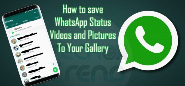 How To Save Whatsapp Status To Gallery Without Any App
