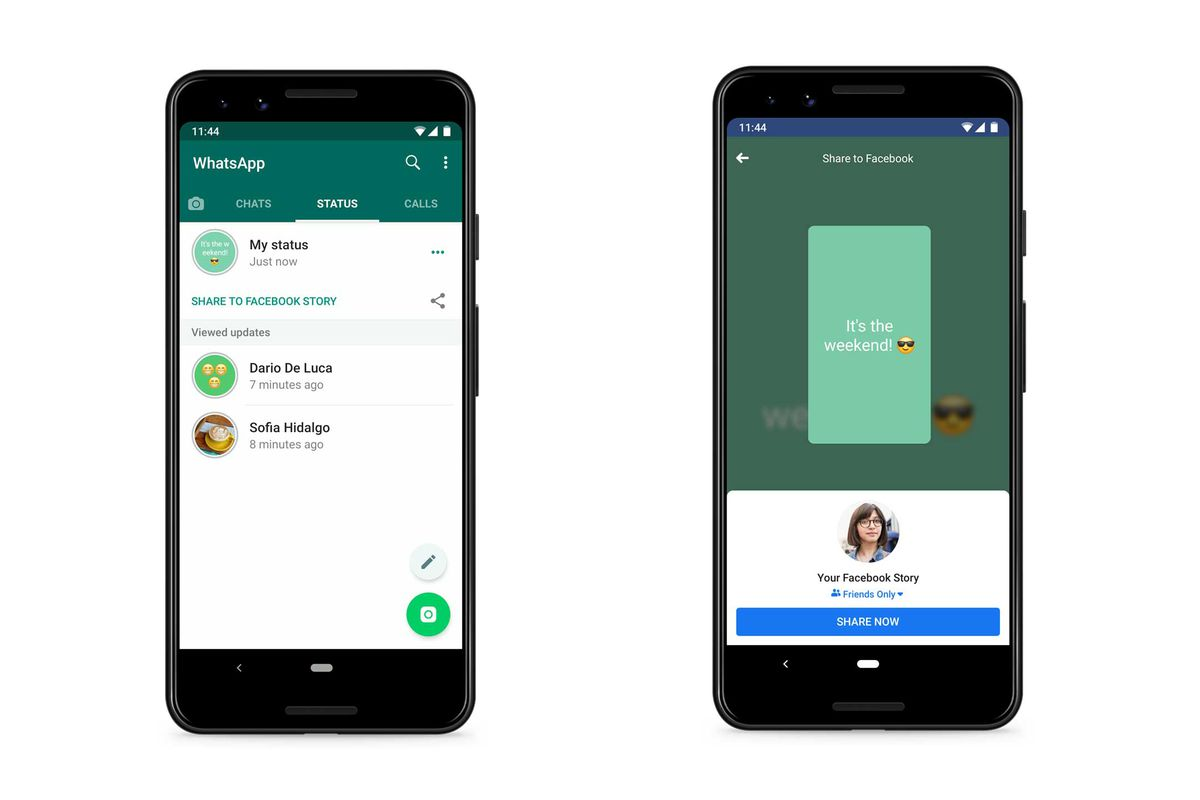 How To Share Whatsapp Status On Facebook And Other Apps