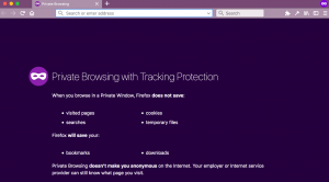 private browsing on ios and android