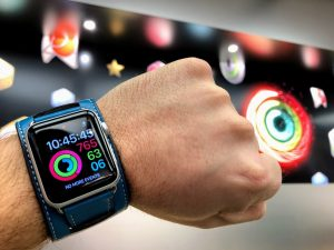 Activity, plus the Apple Watch