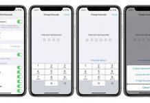 Change to 4 digit passcode