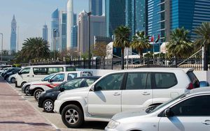 pay parking in Dubai