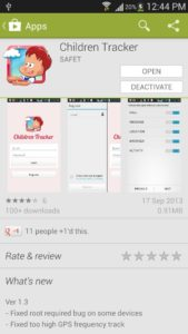 Children Tracker