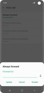 Turn off Voicemail on Samsung A72